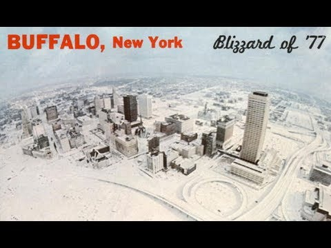 Buffalo, NY Blizzard 1977 radio airchecks