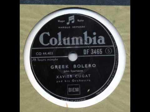 Xavier Cugat - Greek Bolero (1951)