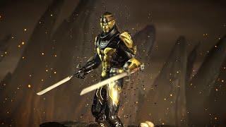 Mortal Kombat X PC Mod - Cyber-Scorpion Costume Intro Gameplay Fatalities Brutalities X-1440p 60FPS