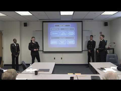 2017 Military Ethics Case Competition: Naval Academy- Farsi Island Incident