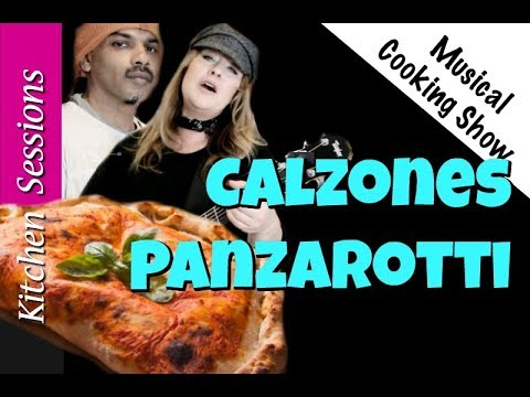 How To Make Calzones  -  Demo A Beavercreek Ukelele! Kitchen Sessions #019 - Musical Cooking Show