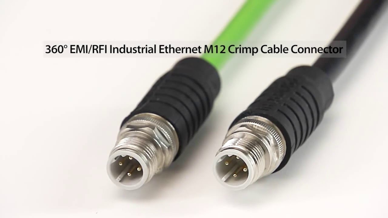 How to assemble the Provertha M12 Industrial Ethernet Crimp ...