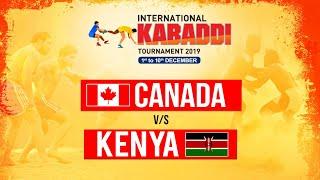 CANADA VS KENYA | INTERNATIONAL KABADDI TOURNAMENT 2019 | POOL B | MATCH 2 | PTC PUNJABI GOLD