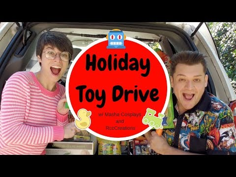 Cosplay Toy Drive for Child Advocates