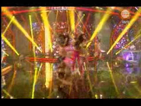 El Gran Show: Claudia Portocarrero elevó la temperatura al ritmo de 'Sacude el billete'