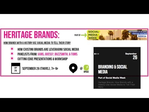 How Brands With a History Use Social Media to Tell Their Story