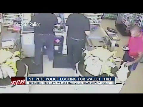 Man caught on camera bagging senior citizen's wallet at Dollar General