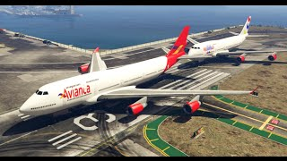 GTA V Mods | Showcases | Avianca - Viva Colombia Airlines Skin for Jet