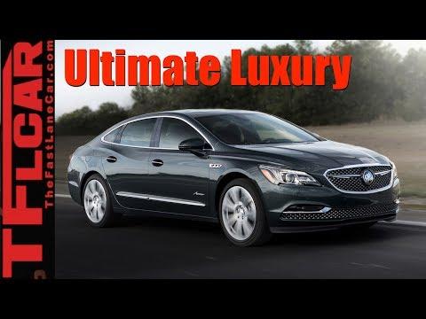 Ultimate Buick Luxury: 2018 Buick LaCrosse Avenir LA Debut
