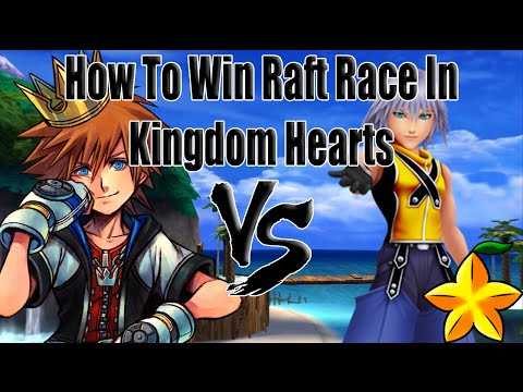 Riku Race KH1: How To Win The Race Against Riku.
