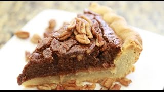 CHOCOLATE PECAN PIE!