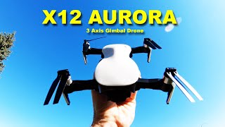 JJRC X12 Aurora Review - Impressive drone with a 3 Axis Camera Gimbal