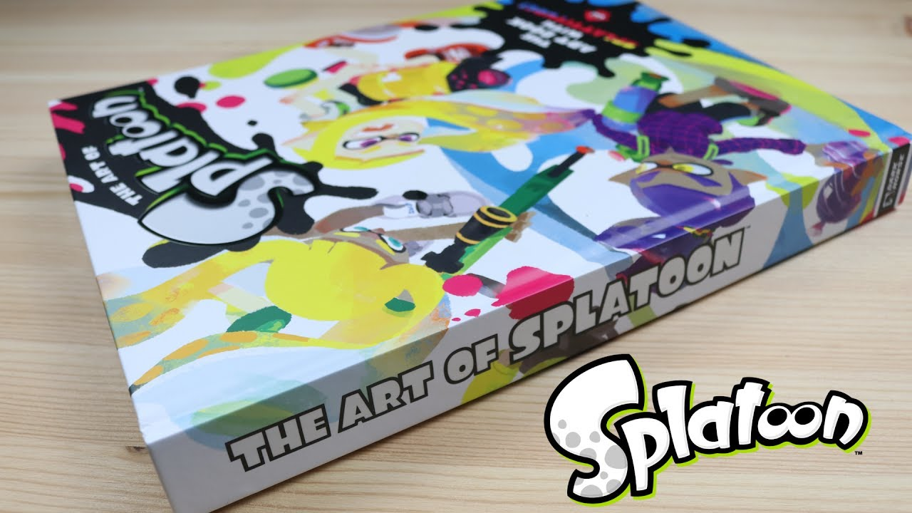Splatoon Art Book