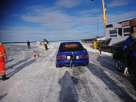 Watch This 2JZ-Powered E30 M3 Go 215 MPH On Ice