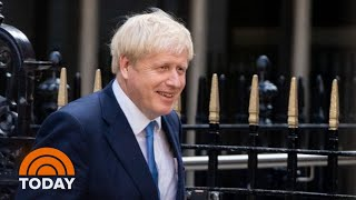 Boris Johnson Begins 1st Day As Britain's Prime Minister | TODAY
