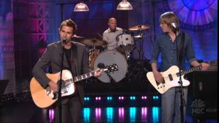 Lifehouse - You and Me (Leno, 3-25-05)