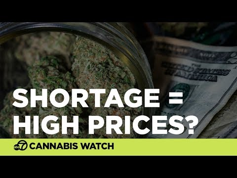 Pot retailers say shortage could lead to high prices
