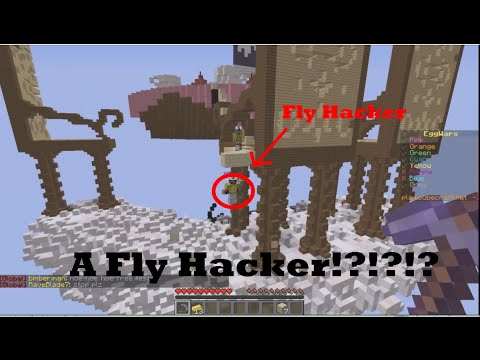 A FLY HACKER!?!? | Minecraft Money Wars TEAMS #1
