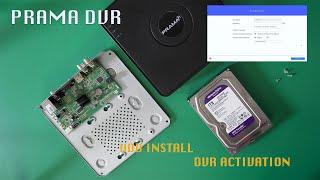 Prama CCTV DVR Hard disk insta…