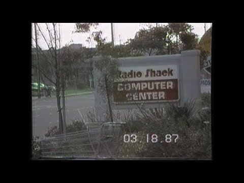 Tour of 2 Radio Shacks (1987)