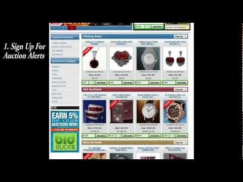 Online Auction Bidding 101 - Guidelines for Bidding on Auctions