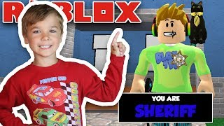 BEING SHERIFF in ROBLOX MURDER MYSTERY 2 is AWESOME