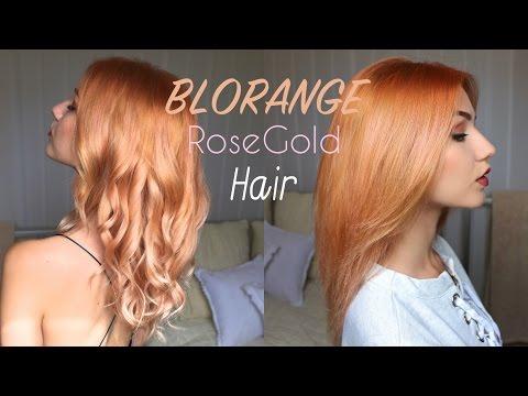BLORANGE | ROSEGOLD Pastel Hair Colour | Stella