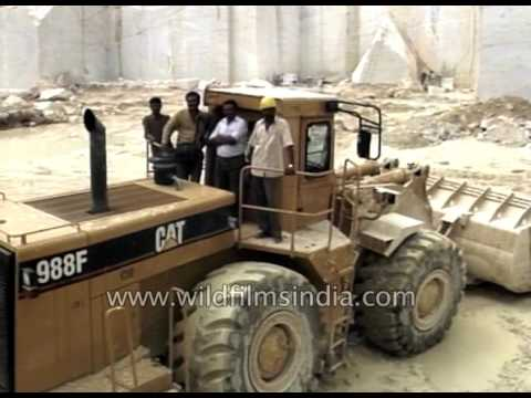 Marble Mining in Rajasthan - on the development path with RIICO Kishangarh
