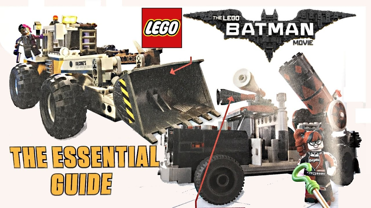 LEGO Batman Movie Summer 2017 sets pictures from the