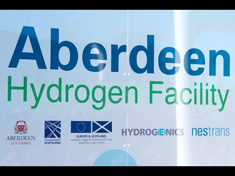 Hydrogen Fuel Station Aberdeen HD 1080p