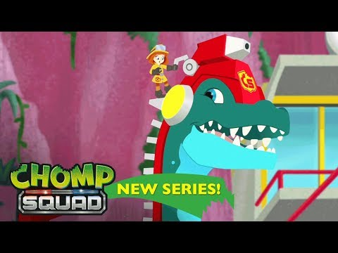 NEW Series! - Chomp Squad 🦕 - 'Fired Up!' Episode 1