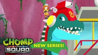 NEW Series! - Chomp Squad 🦕 - 'Fired Up!' Episode 1 thumbnail