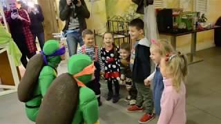 Черепашки Ниндзя - День рождение Давида, 4 года