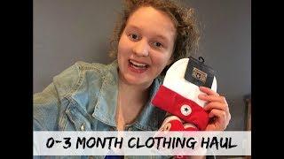 0-3 Month Clothing Haul | Zero Waste Baby
