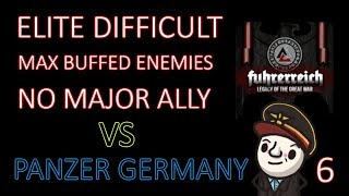 Hearts of Iron 4 - Hardest Possible Game - Fuhrerreich - Germany - Part 6