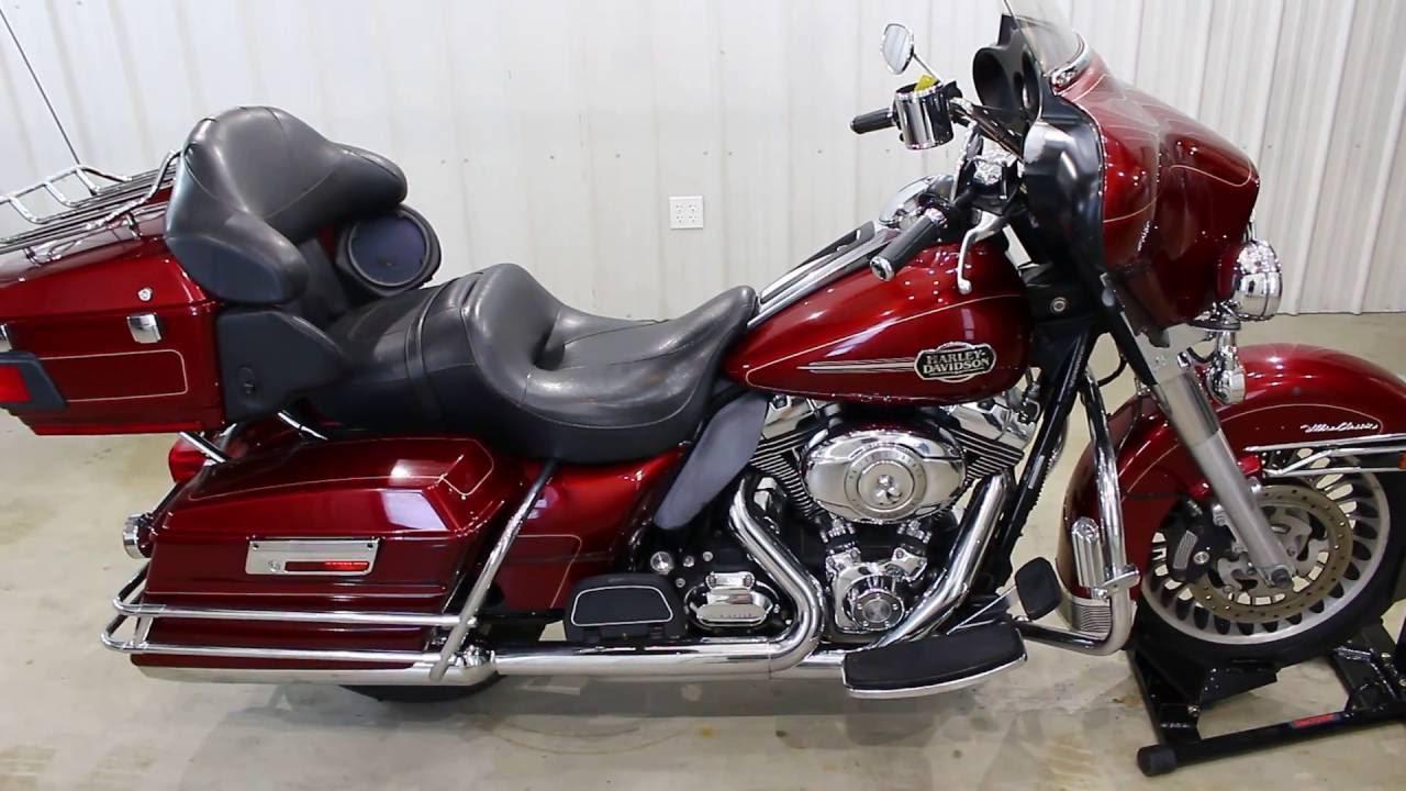 2009 Harley Davidson Ultra Classic Description - YouTube