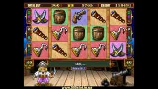 Игровой автомат Pirate 2 - бонус игра бочки
