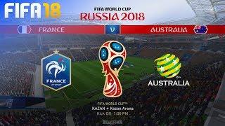 FIFA 18 World Cup - France vs. Australia @ Kazan Arena (Group C)