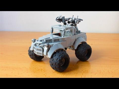 LEGO Bigfoot From Mad Max Fury Road MOC