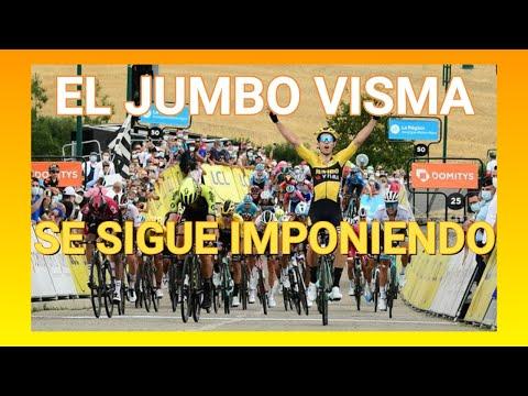 Etapa 1 Criterium Du Dauphine 2020 - Jumbo Visma Se Impone - Ciclismo de ruta.