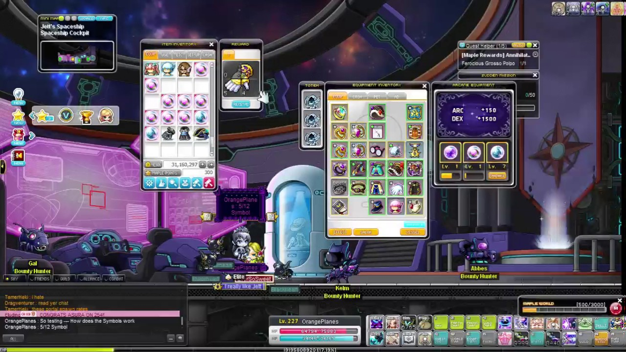 Maplestory Arcane Symbol Testing Youtube