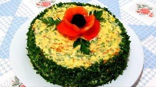 Вкусно - Кабачковый ТОРТ Вкуснейший #ТОРТ из КАБАЧКОВ #Кабачки Рецепты