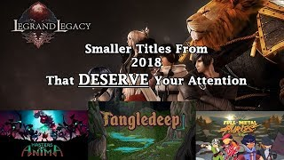 Best (and Underrated) Indie Games of 2018