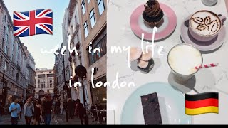 a (messy) week in my life as an au pair in london