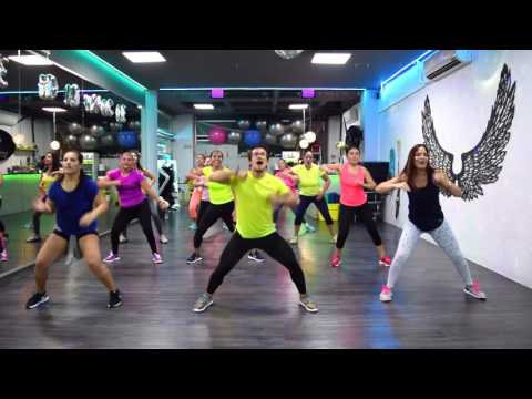 Jaque Mate  - Yandel Ft Omega By Cesar James / Zumba Cardio Extremo Cancun