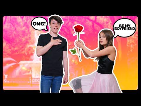 ASKING MY CRUSH TO BE MY BOYFRIEND **SURPRISE Valentines Day Proposal**🌹❤️|Sophie Fergi