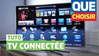 TV connectée - Mode d'emploi