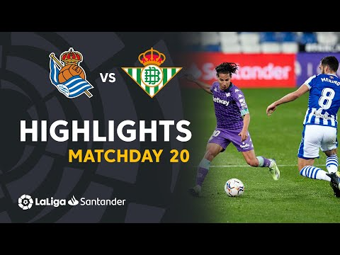 Real Sociedad Betis Goals And Highlights