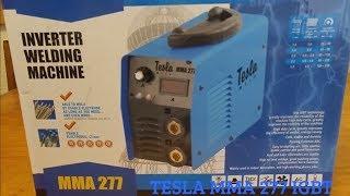 Сварочный инвертор TESLA MMA 277 IGBT. Обзор после покупки