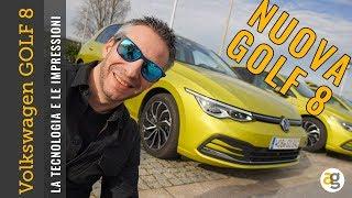 Volkswagen GOLF 8 la TECNOLOGIA, i PREZZI e COME VA la nuova VOLKSWAGEN